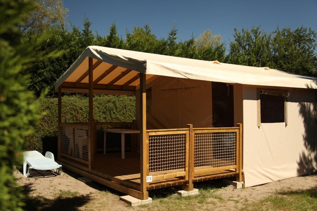 Ecolodge en Auvergne au camping Le Clos Auroy