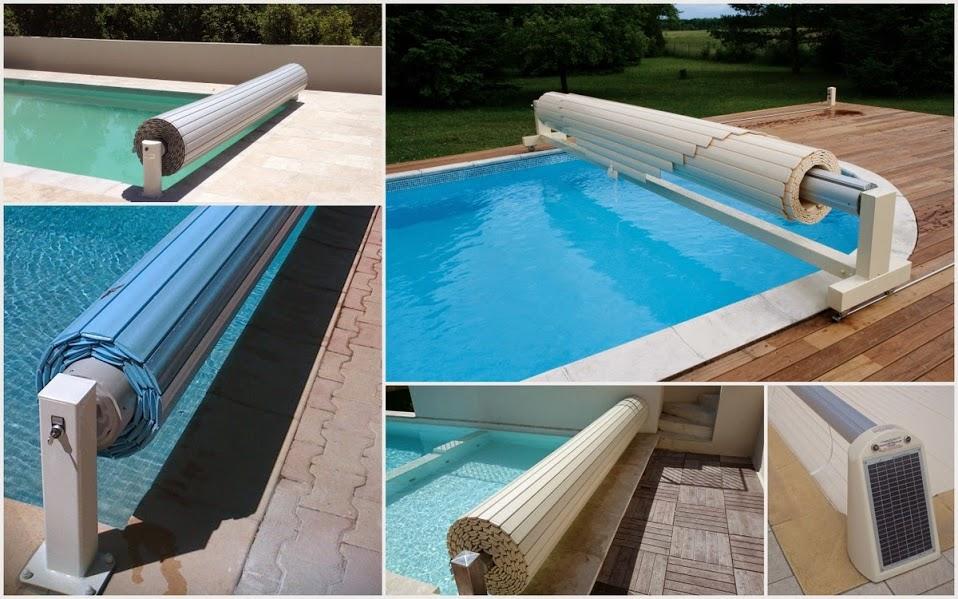 Quelques volets de piscine installés par Coverline