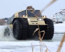 Découvrez le « Sherp ATV », le roi du tout terrain