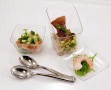 Les chefs cuisiniers et l'art de la verrine