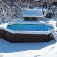 Comment entretenir la piscine durant l'hiver ?